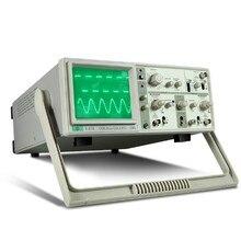 MCH отображение в реальном времени двухканального CRT в аналоговом осциллографе