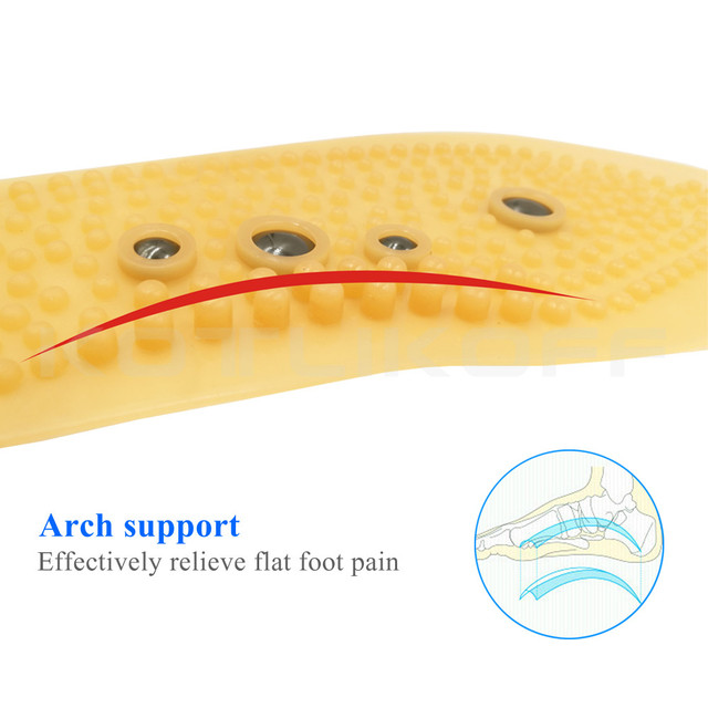 Magnetic Acupressure Insoles Massage Shoes Pads for Slimming Weight Loss Foot Massaging Feet Health Care Magnet Insole Sole Pads 3