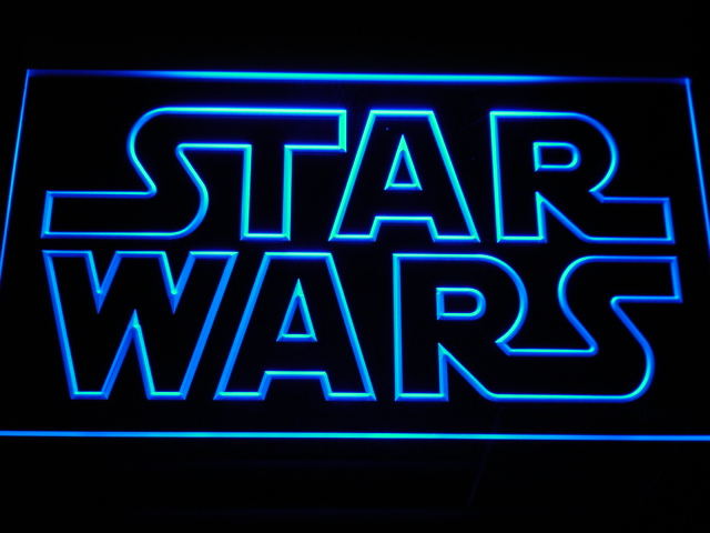g113 Star Wars Bar Beer LED Neon Sign with On/Off Switch 20+ Colors 5 Sizes to choose