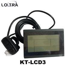 36v 48v 60v 72v inteligente kt lcd3 display de bicicleta elétrica ebike lcd painel da bicicleta
