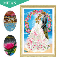 3D DIY Diamond Embroidery 5D Diamond Painting Diamonds Mosaic Wedding Love Full Rhinestone Cross Stitch Christmas