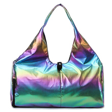 Oxford Women #8217 s Travel Bags Waterproof Fitness Pink Duffle Bag Luggage Bag Women Sport Bags Luggage Bag For Women 31T cheap Fashion zipper Solid Travel Duffle Soft 24cm 48cm 0 45kg 22cm Polyester Versatile women travel bags 48*24*22 cm