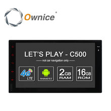 """Ownice C500 Android 6.0 2G RAM 7"""" 1024*600 Support 4G LTE SIM Network Car GPS 2 din Universal with car Radio player no dvd"""