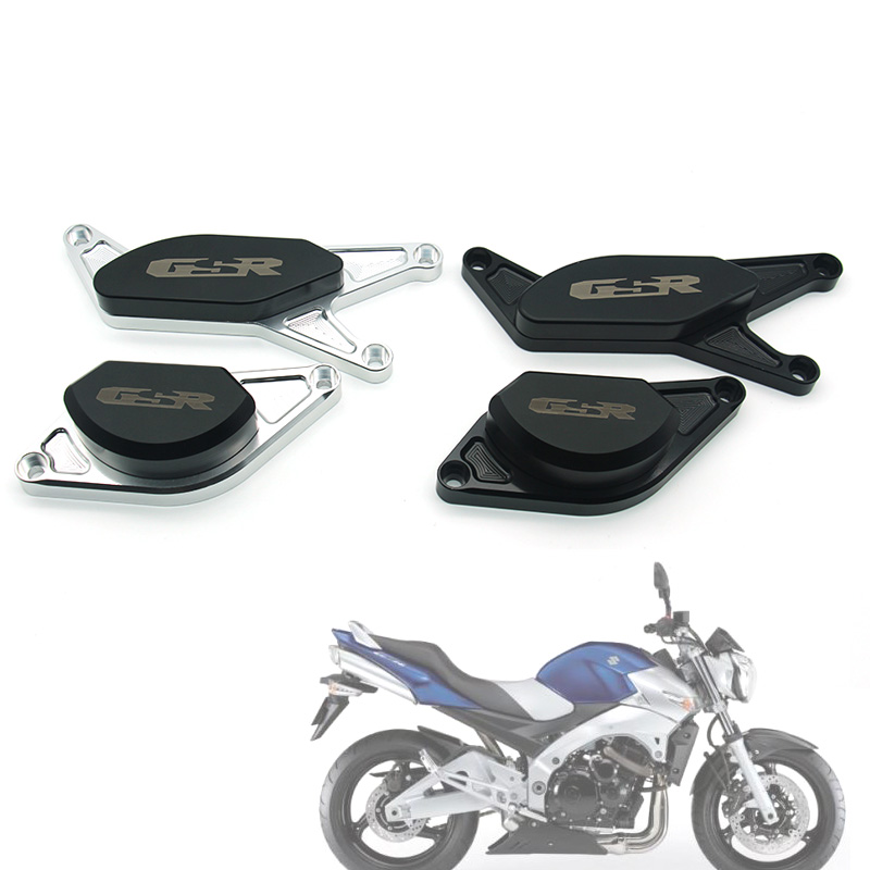 For SUZUKI  GSR750 GSR600 GSR400 GSR 400 600 750 CNC Completo Motor Crash Pads Quadro Sliders Protector