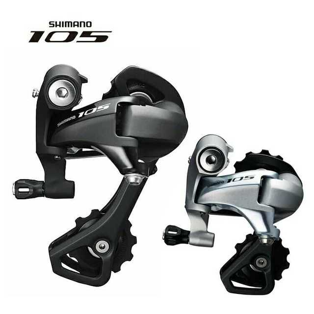 5b6e3db0447 Shimano 105 RD-5800-GS 11-Speed Middle Cage Road Bike Rear Derailleur -  Black OE