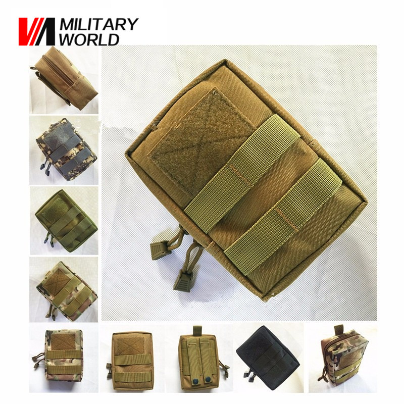 Airsoft Sports Military 1000D MOLLE Utility Tactical Vest Waist Pouch Bag For Outdoor Hunting Wasit Pack Cycling Equipment!