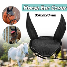 Protector Horse-Equipment Equestrian Cover Breathable Ear-Net Meshed Insects Prevent