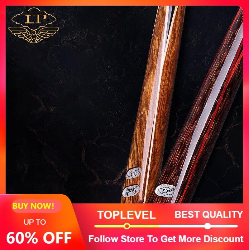 LP GENTLEMAN 3 4 Piece Snooker Cue Billiard Cue Stick with Case and Extension Ash Shaft