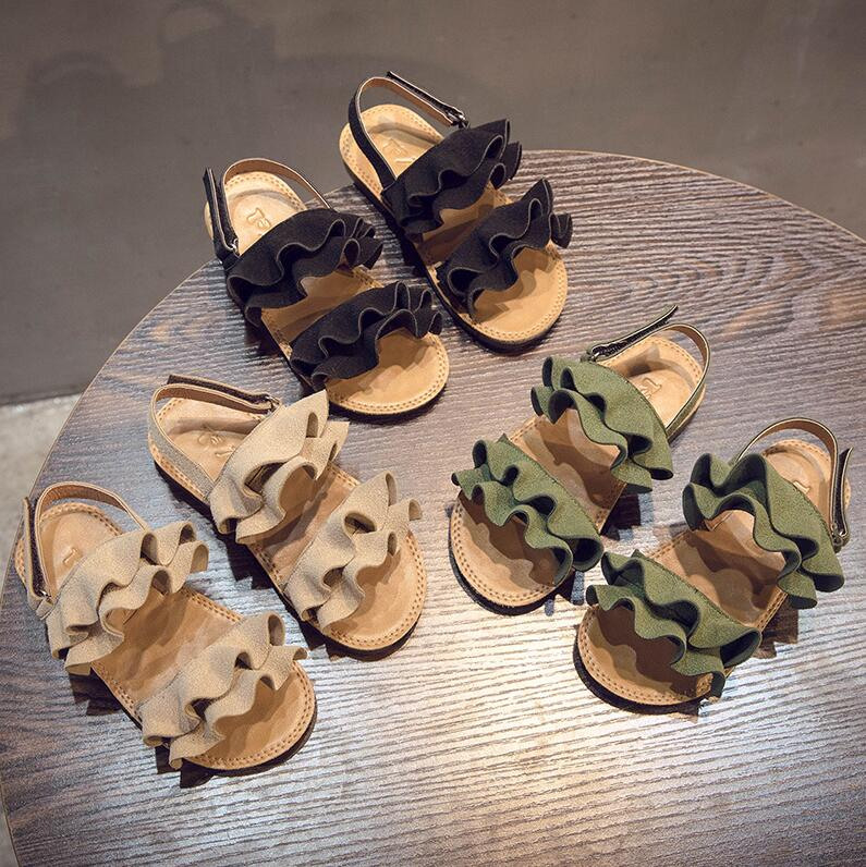 New Children Girls Summer Shoes Kids Sandals For Girls PU Leather Flowers Princess Shoes Girls SandalsNew Children Girls Summer Shoes Kids Sandals For Girls PU Leather Flowers Princess Shoes Girls Sandals