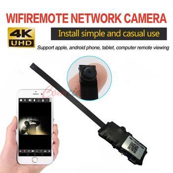 HD 4K Mini WiFi IP Cámara Full HD DIY Mini cámara módulo soporte inalámbrico Hotspot detección de movimiento soporte de Vista Remota tarjeta TF
