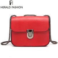 Herald Fashion Brand Chain Messenger Bags Mini Women S Shoulder Bag Fashion Brand Shoulder Bags Crossbody