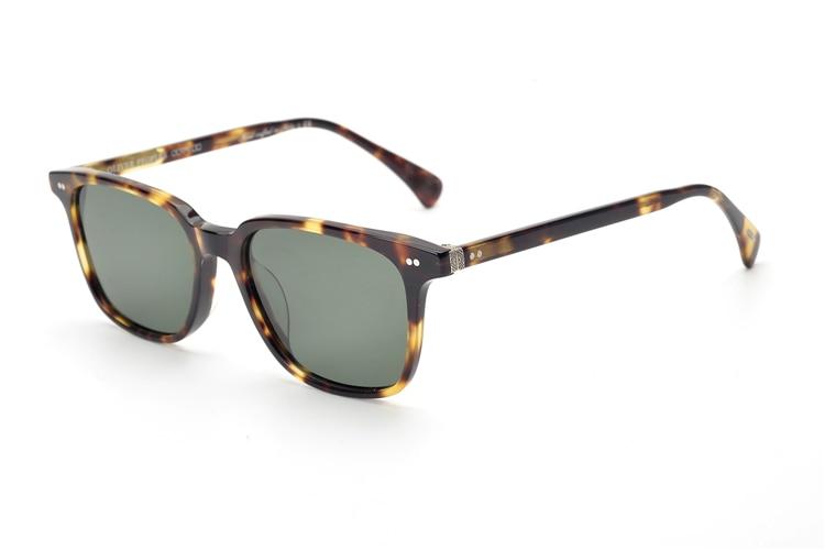 Vintage  Acetate Eyeglasses Polarized Sunglasses Men Women Gafas De Sol OV5316 High Quality Women Fashion 2018  Sunglasses Men
