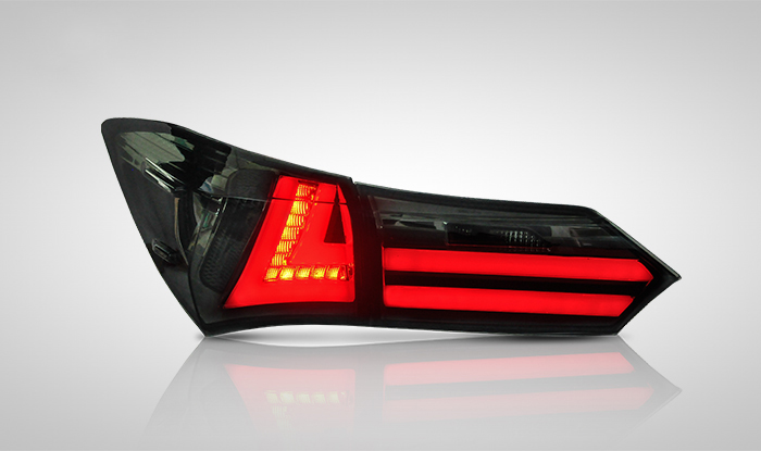 for Toyota Corolla Car Lights LED Rear lights fit 2014-up Ensure quality and fitment Brake Reverse Backup V2 with 3 Colors