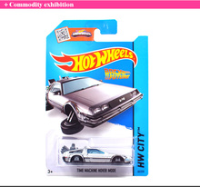 Hot Sale Hot Wheels Time Machine Collection Metal Cars Hot Wheels Back To The Future Style