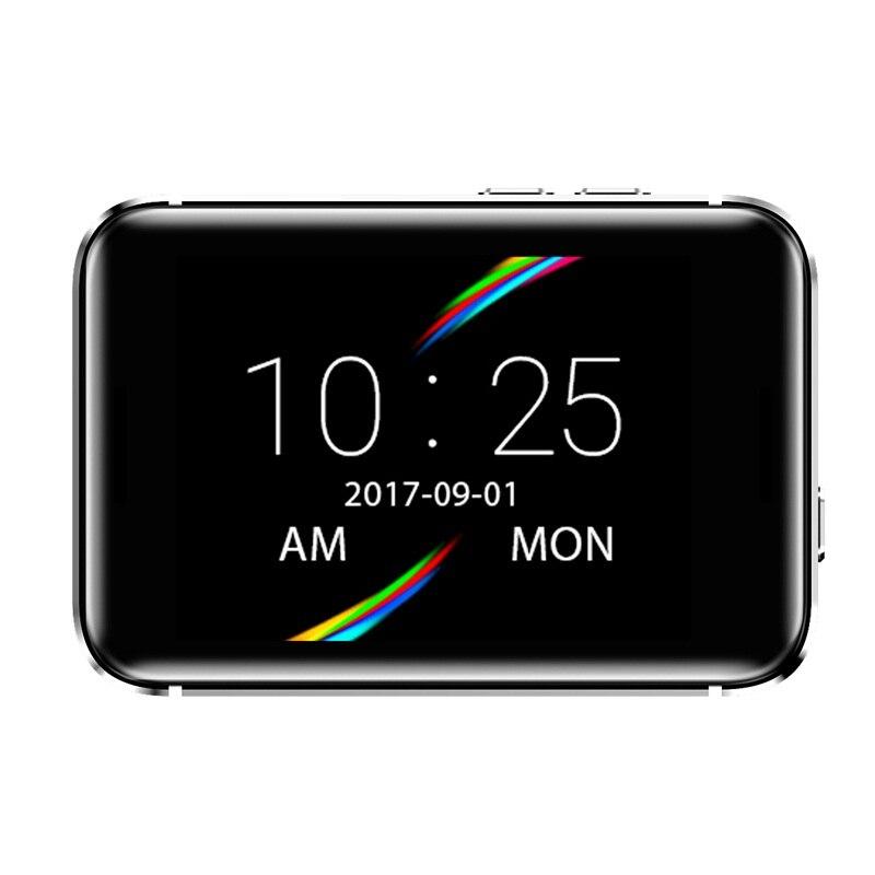 696 i5S montre Mobile intelligente 2.2 pouces MTK2502C podomètre carte SIM enregistrement vidéo musique 32g TF étendre GSM MP3 MP4 caméra montre intelligente