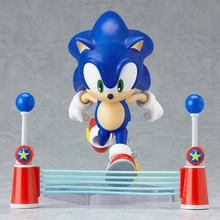 Sonic the Hedgehog Figuras de Ação 10 centímetros BJD Toy Model Collection Nendoroid 214(China)