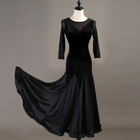 ballroom dress standard ballroom dance dress standard dance dress women ballroom dress black mq104