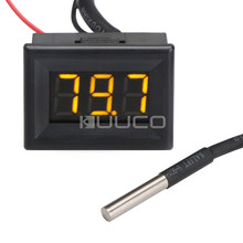 Wholesale prices Digital Meter -67~+257 Fahrenheit Degrees Temperature Meter DC 12V 24V Thermometer/Tester for Car/Indoor/Outdoor