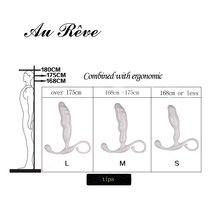 Male Silicone G-Spot Prostate  Massager Vibrator Anal Vibrator Adult Sex Toys