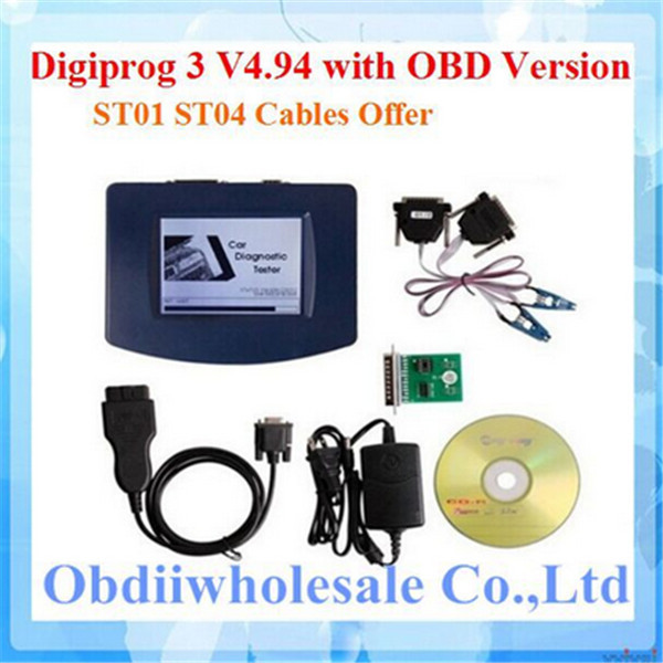 Prix pour DHL Livraison 2017 Usine Prix Digiprog 3 Odomètre Correction OBD Version Digiprog III Kilométrage Programmeur outil de V4.94 Digiprog3