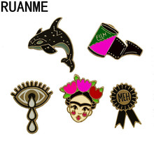 The charm of women fashion jewellery micro chapter 2017 Dolphins coat collar bag clown brooch sell like hot cakes