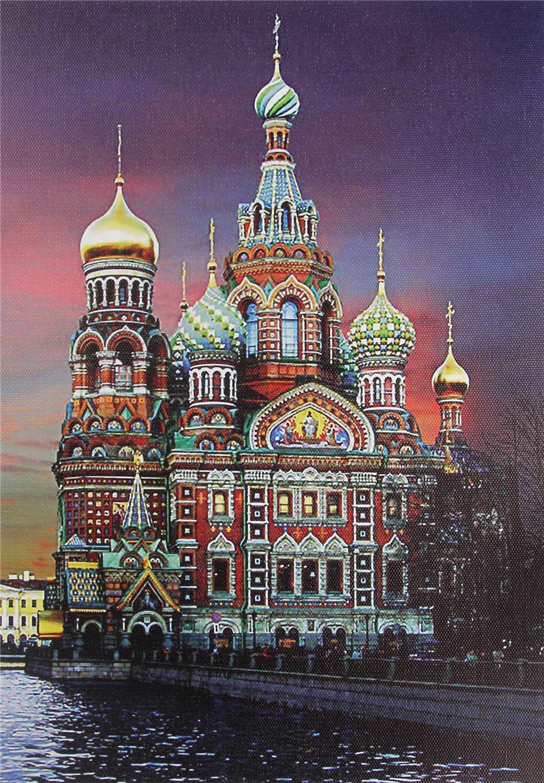 Алмазная вышивка церкви