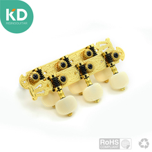 2 per set High end  Classical Guitar Tuning Pegs Machine Heads Tuning keys Gold color