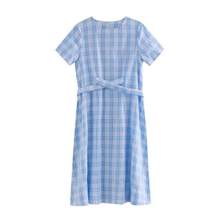 7427848529d Новый Для женщин платье плед платья сетки 1025 - b.djurlove.me