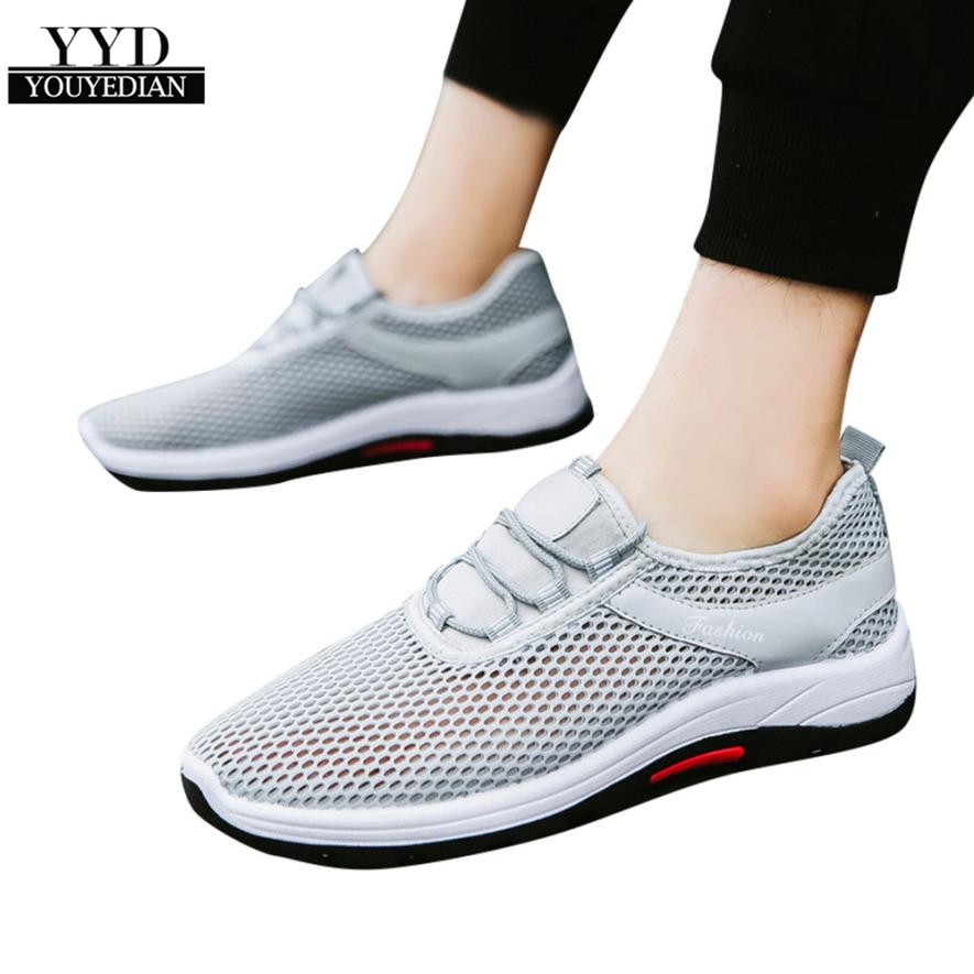 Men's Shoes Youyedian Men Casual Shoes Breathable Flat Shoes One-legged Lazy Shoes For Adult Fashion Footwear Zapatillas Hombre #l3 Suitable For Men And Women Of All Ages In All Seasons
