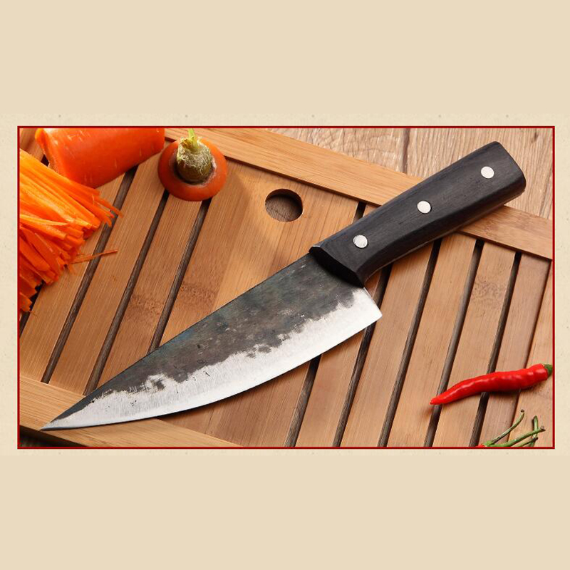 XITUO hand forged kitchen knife sharp sashimi blade fish chef knife deboning splitter tungsten steel slaughter