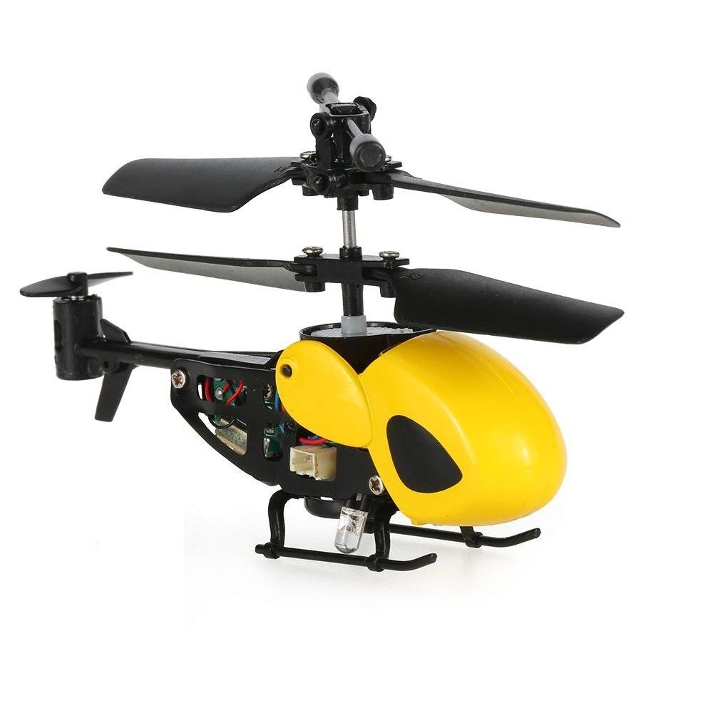 2chマイクロ赤外線ヘリコプターrcヘリコプタードローンナノ航空機rtf JIN Eboyu (tm)