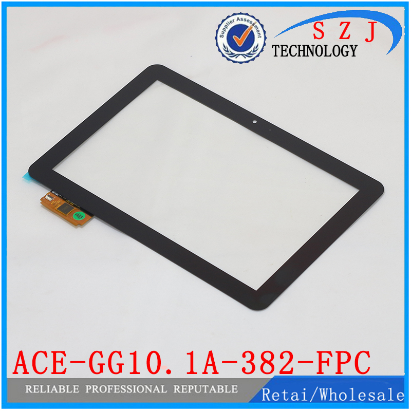 New 10.1'' inch ACE-GG10.1A-382-FPC Prestigio Capacitive Touch Screen Digitizer Replacement Glass Sensor Repair Free shipping brand new 10 1 inch touch screen ace gg10 1b1 470 fpc black tablet pc digitizer sensor panel replacement free repair tools