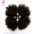 5 pcs Afro brasileira Kinky Curly cabelo Weave Bundles 55 g extensões de cabelo humano 7A Kinky Curly virgem cabelo Rosa produtos de cabelo rainha