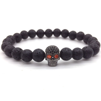 Lava Beads Stone Bracelet20