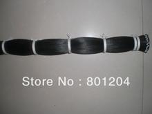 100 hanks of black horse hair in 32 inches (6g/hank) totally 600 grams bow hair