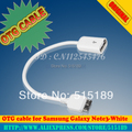 OTG cable  for Samsung Galaxy Note3-White