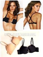 FREE SHIPPING Magic Invisible Underwear Deep V Neck Racerback Formal Dress Product Nude Black U Push