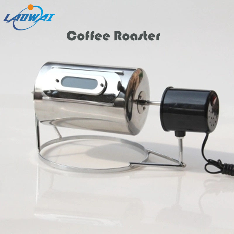 Coffee Beans Roasters Stainless Steel Bean Baking Machine Peanut/Nut Fruit/Sunflower Seeds Roasting Machine(China)