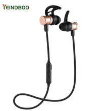 YEINDBOO New Alloy Feel In-Ear Sports Earphone Bluetooth Wireless Dynamic Sound Effect Fashion Daren Best Choice.