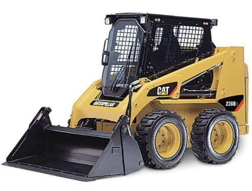 Norscot 1/32 Caterpillar Cat 226B3 Skala Skid Loader W/Alat 55268 MIB/Baru