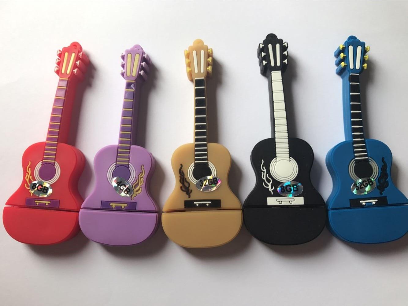 100% real capacity Musical Instrument Guitar Usb Flash Drive / Usb Memory Stick 16GB 32GB,Flash Memory Stick Pen Drive Disk S331