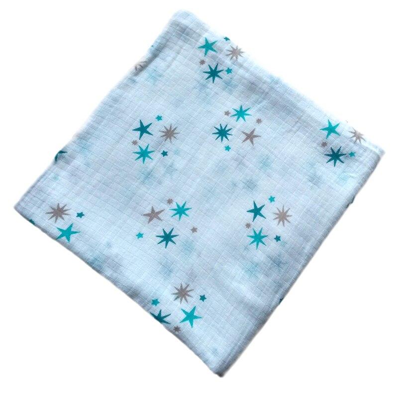 Baby Blanket Swaddle Wrap Nyfödd Muslin Bedding Aden anais Bomullsgas Mottagande filt Barn Bad Handduk