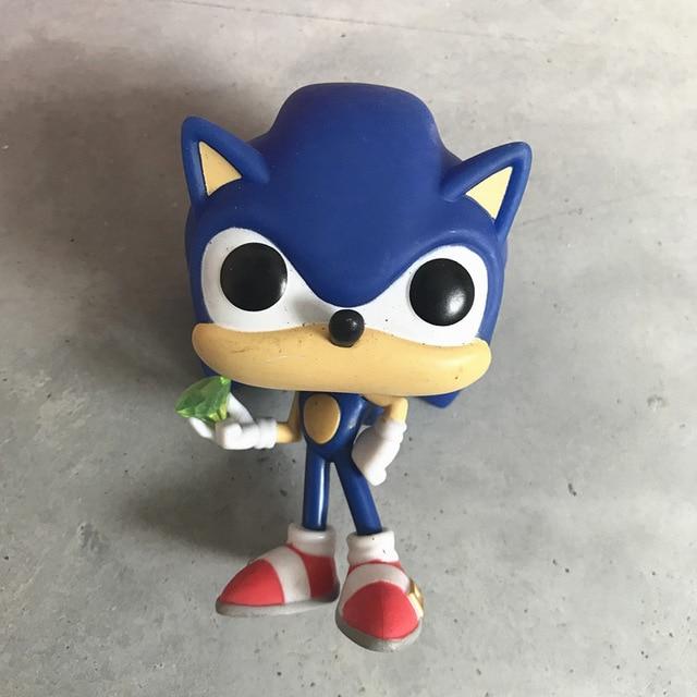 e3e15c1e8b3 Funko POP Secondhand Sonic the Hedgehog Vinyl Action Figure Collectible  Model Loose Toy Cheap No Box