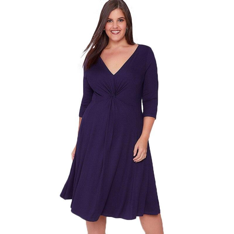 Linyun Платье 2017 года Для женщин Элегантная осень платье до колена плюс Размеры Элегантный Bodycon Sexy Party Vestidos Mujer