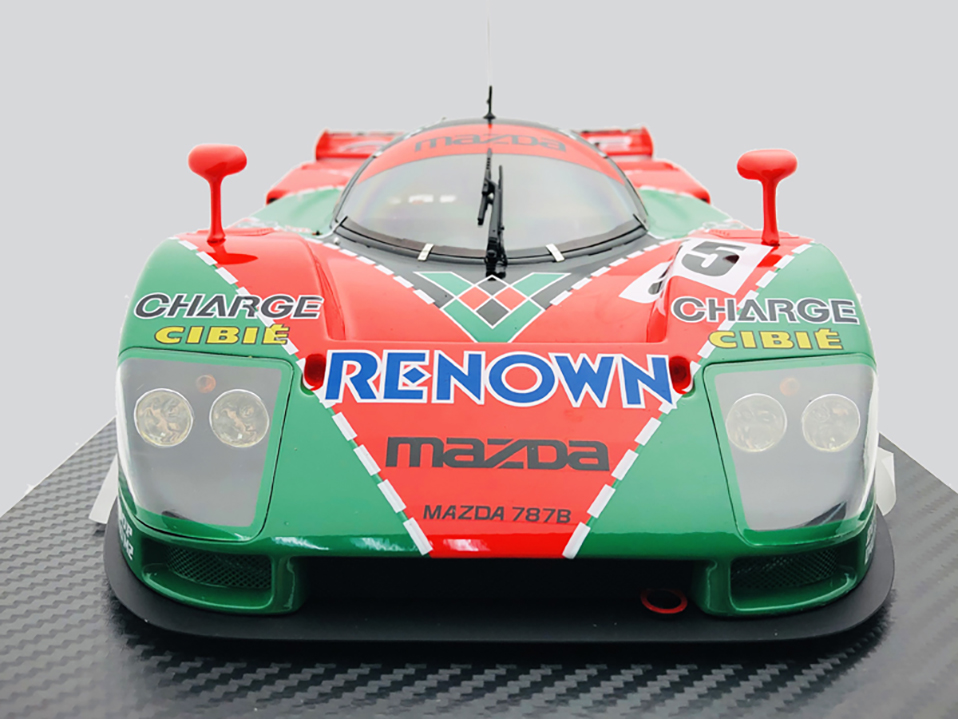 Diecast 112 car Toys For Boys red Mazada Diecasts Toy Vehicles 787B abs children Birthday Gift Model Car (4)