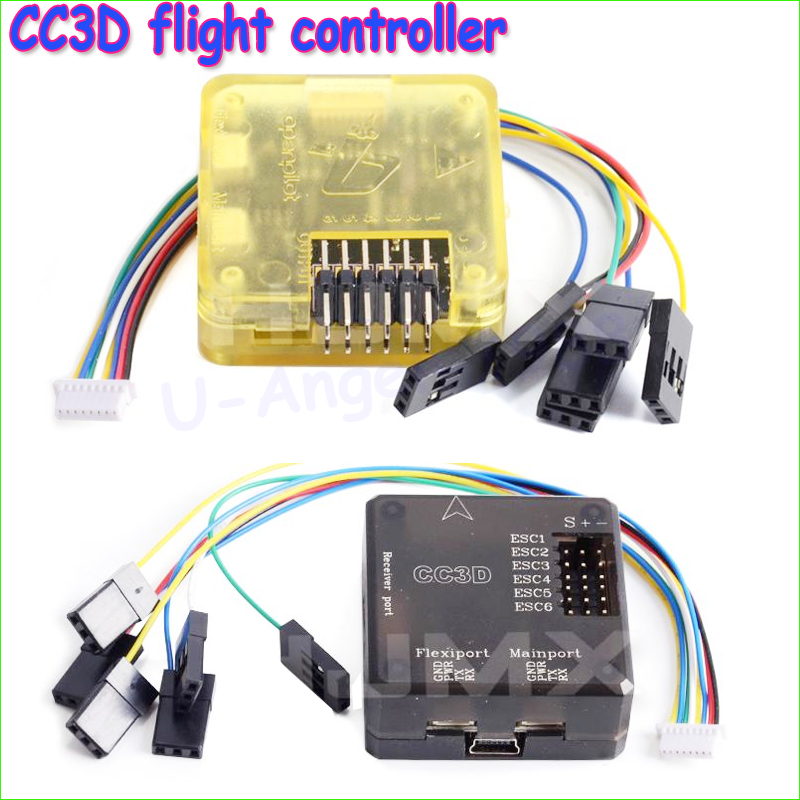 1pcs Open Pilot CC3D Atom Mini CC3D Evo Flight Controller with Flexiport for RC Quadcopter Parts For FPV QAV250 Quadcopter free shipping openpilot cc3d atom mini fpv flight controller evo bent needle