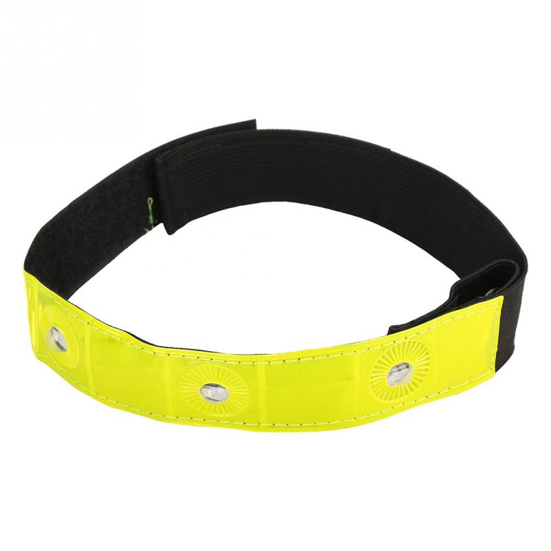 Professional Sale Bike Bicycle Cycling Band Arm Leg Pant Reflective Strap Belt Safety Reflector Numerous In Variety Back To Search Resultssecurity & Protection
