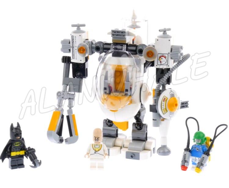 293 шт. Super Heroes Batman Movie умник мех Еда бороться приправы King 07096 модель строительных блоков игрушки совместим с lego