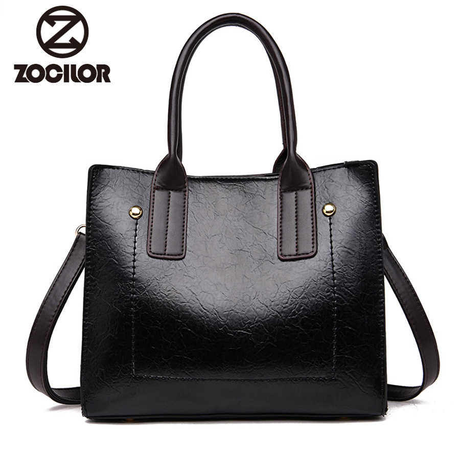 NEW fashion pu Leather Handbags Big Women Bag High Quality Casual Female Bags Trunk Tote Brand Shoulder Bag Ladies Large Bolsos new women leather handbags shoulder bag women s casual tote bag female patchwork handbags high quality main ladies hand bags