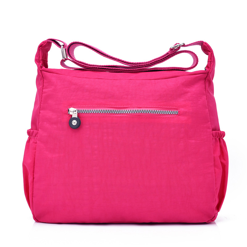 Women Shouder Bags Handbags Female Famous Brand Solid Messenger Bag Small Summer Beach Nylon Purse Sac A Main Bolsas Feminina